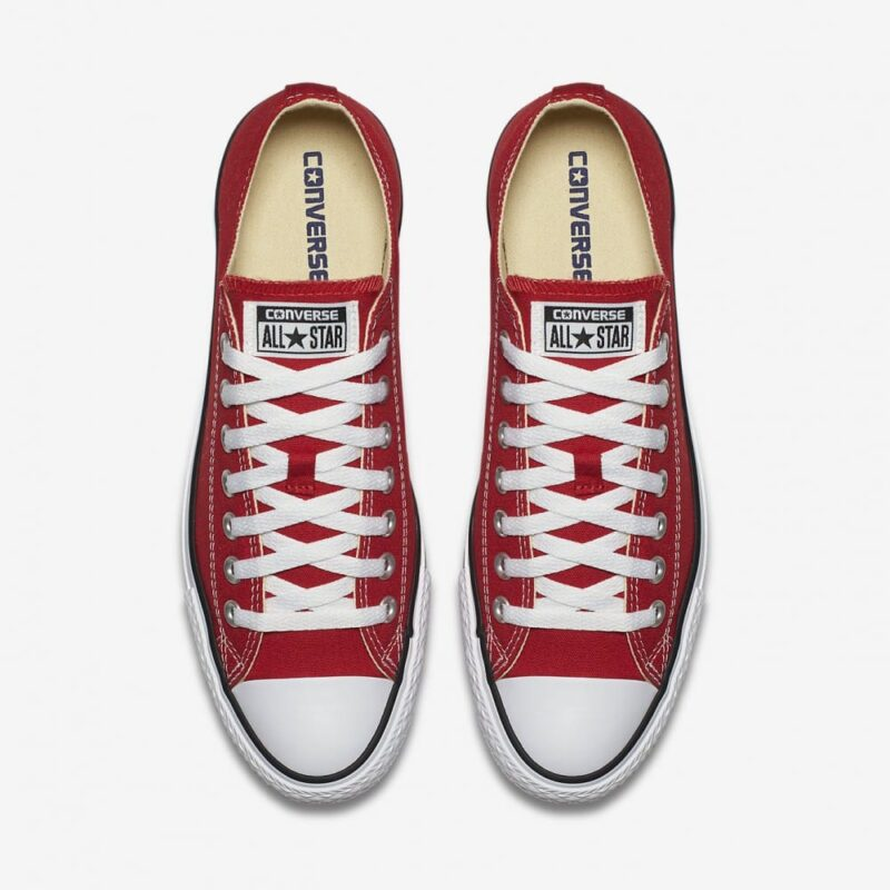 Converse Chuck Taylor All Star Red Low Top Sneaker M9696 2