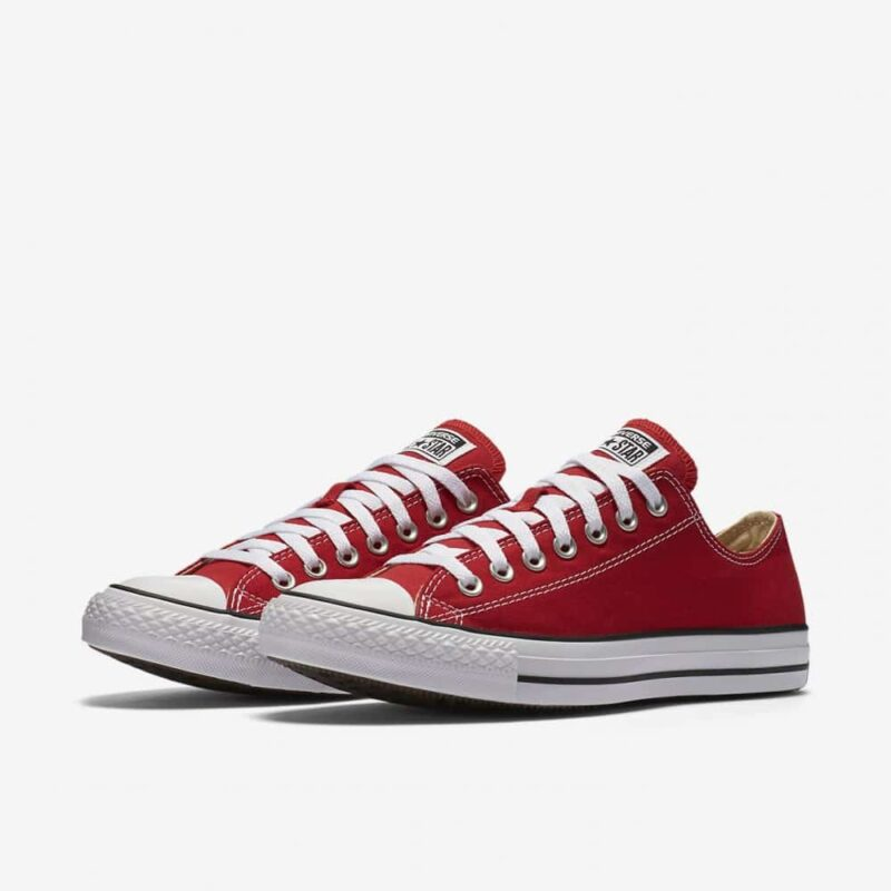 Converse Chuck Taylor All Star Red Low Top Sneaker M9696 1