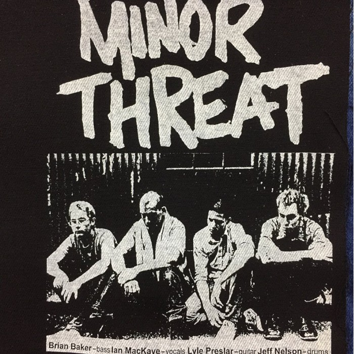 Back Patch Minor Threat