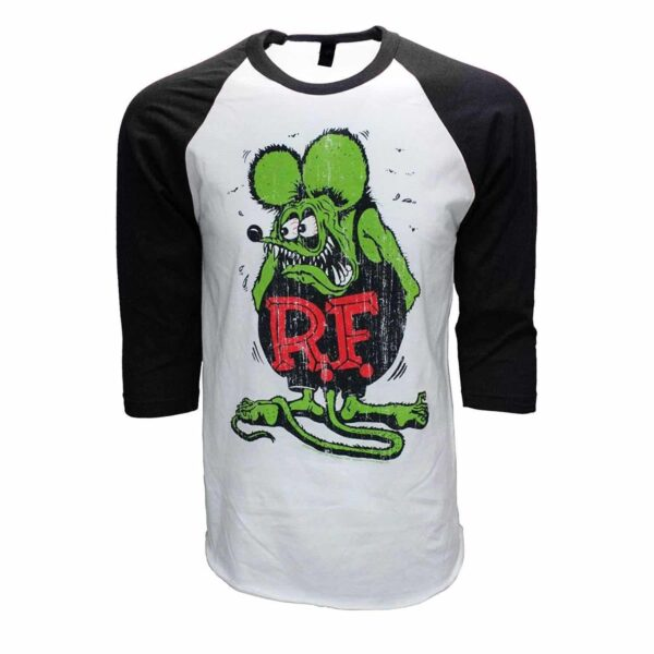Rat Fink Ed Roth Big Daddy Baseball Tee