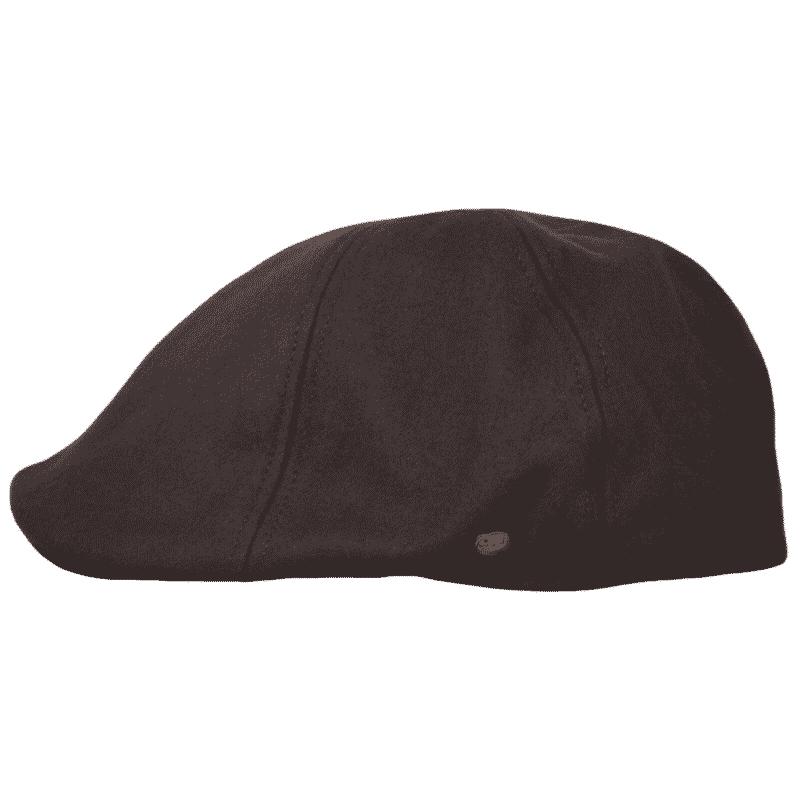 Brown Wool Ivy Hat 1