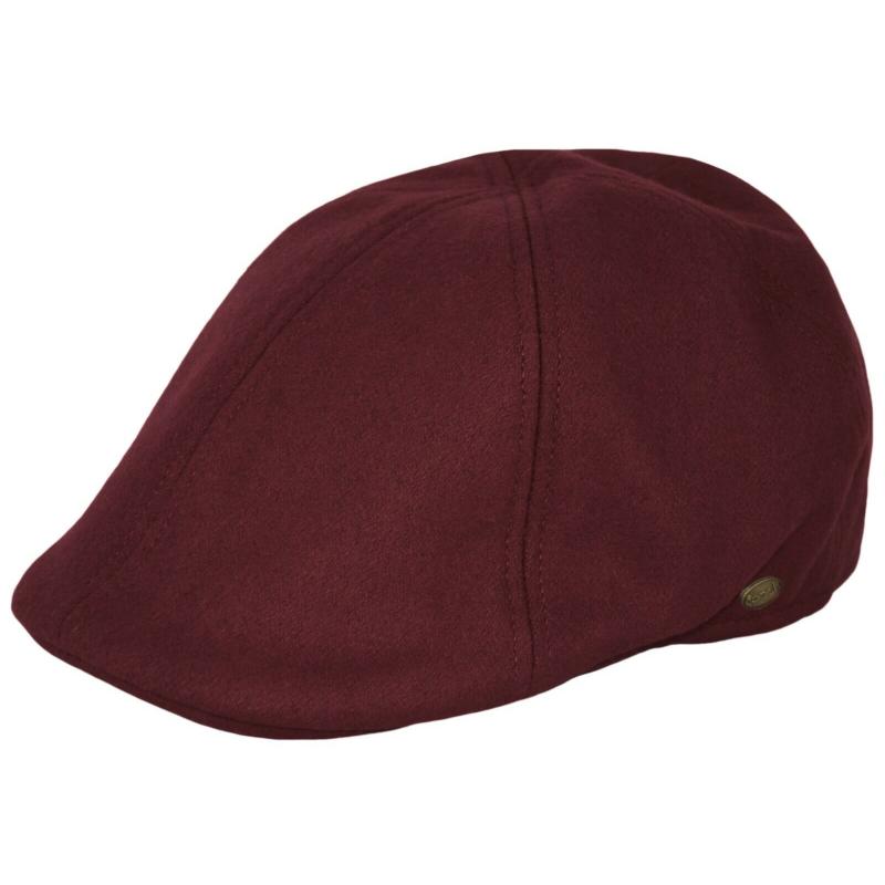 Burgundy Ivy Hat