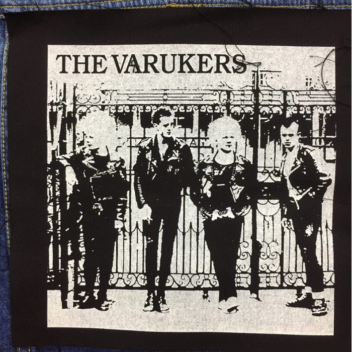 Back Patch The Varukers