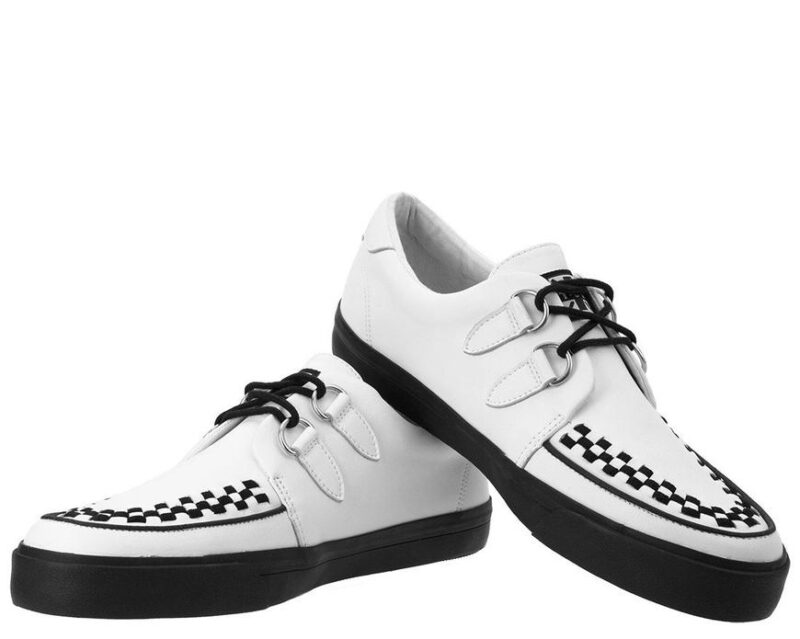 TUK White Sneaker Creeper A9179 1
