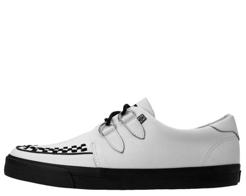 TUK White Sneaker Creeper A9179 2