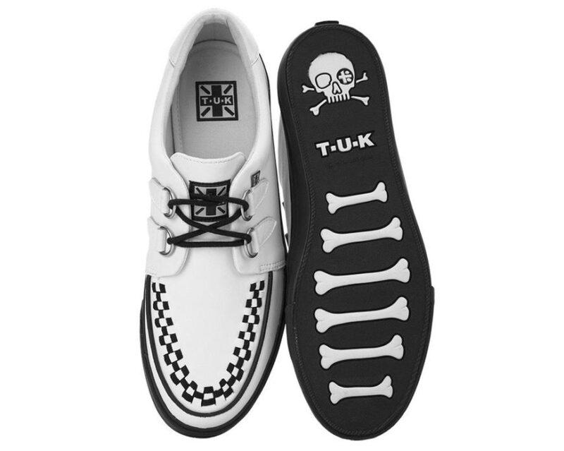 TUK White Sneaker Creeper A9179 3