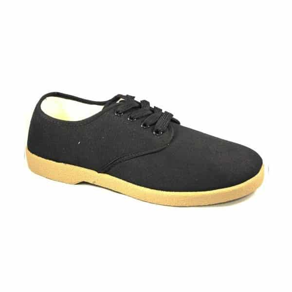 Zig Zag Wino Shoes Black/Gum Sole 7201