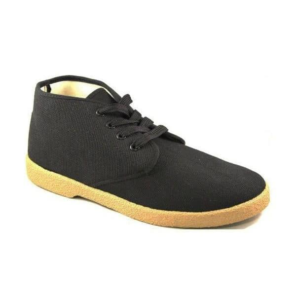 Zig Zag Wino Shoes High Top Black/Gum Sole 7218