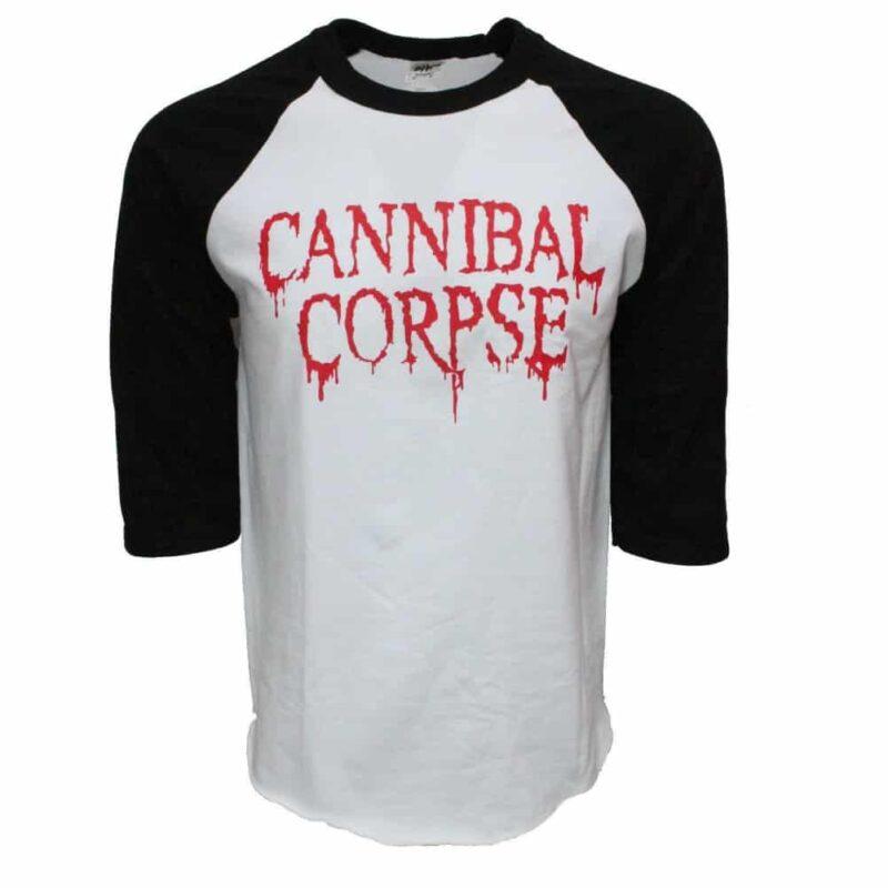Cannibal Corpse Baseball Tee 1