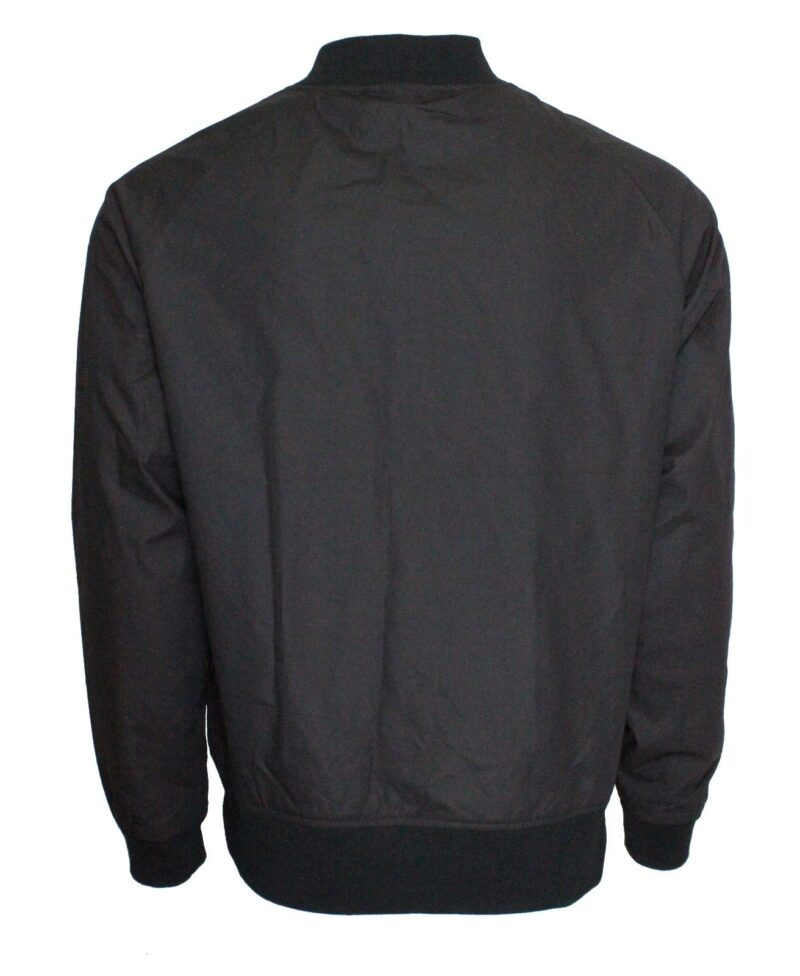 Black Lightweight Bomber Jacket 2