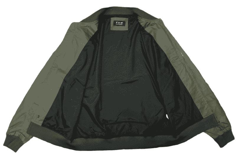 Olive Lightweight Bomber Jacket 2