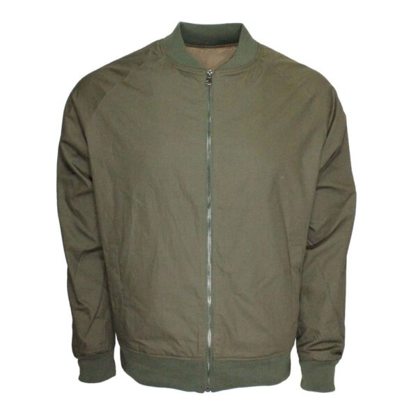 Olive Harrington Bomber Jacket