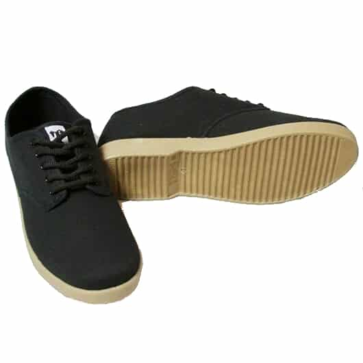 Black Canvas Trooper Wino Shoe w/ Gum Sole 1