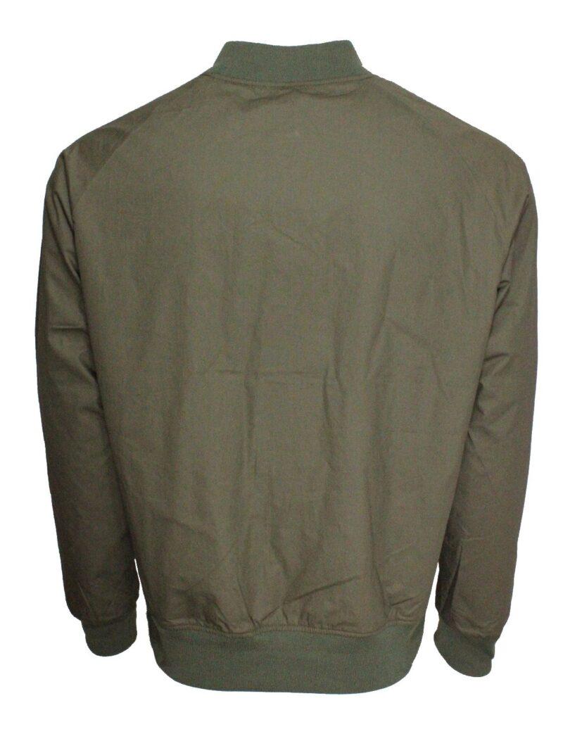 Olive Lightweight Bomber Jacket 1