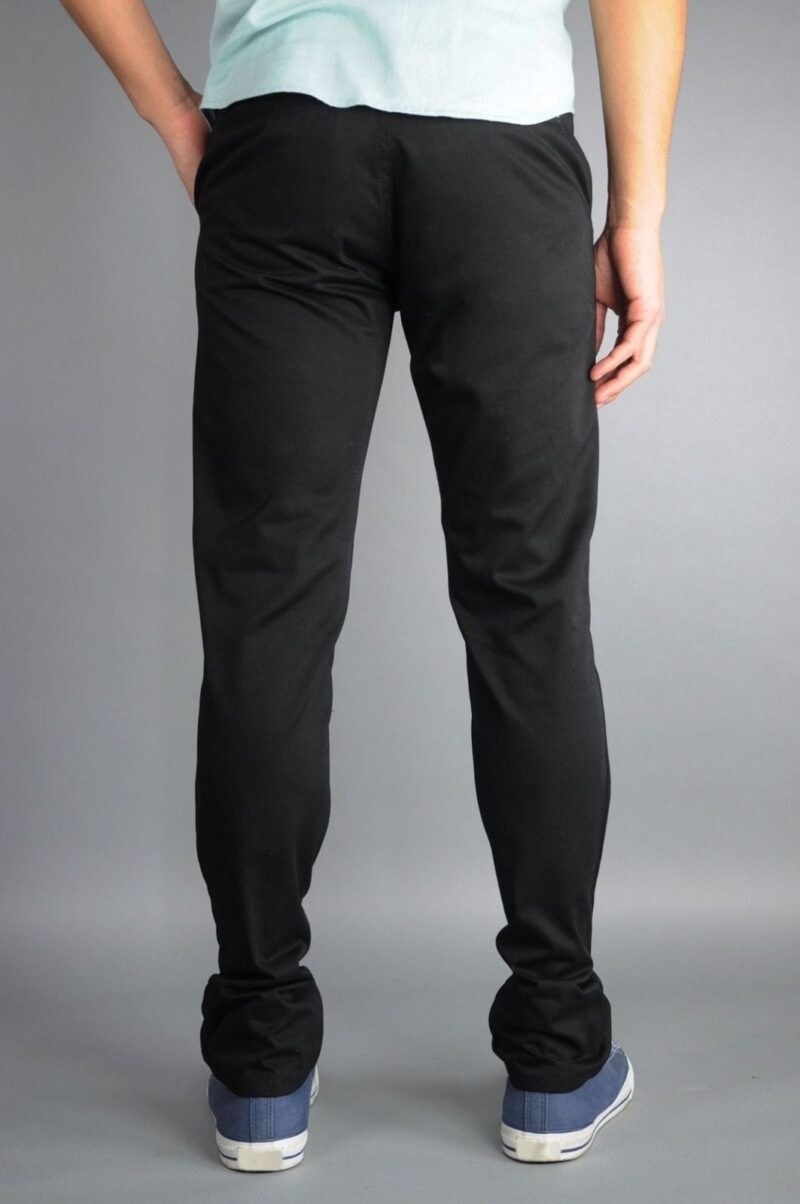 Black Chino Pants by Neo Blue Pants Premium 1