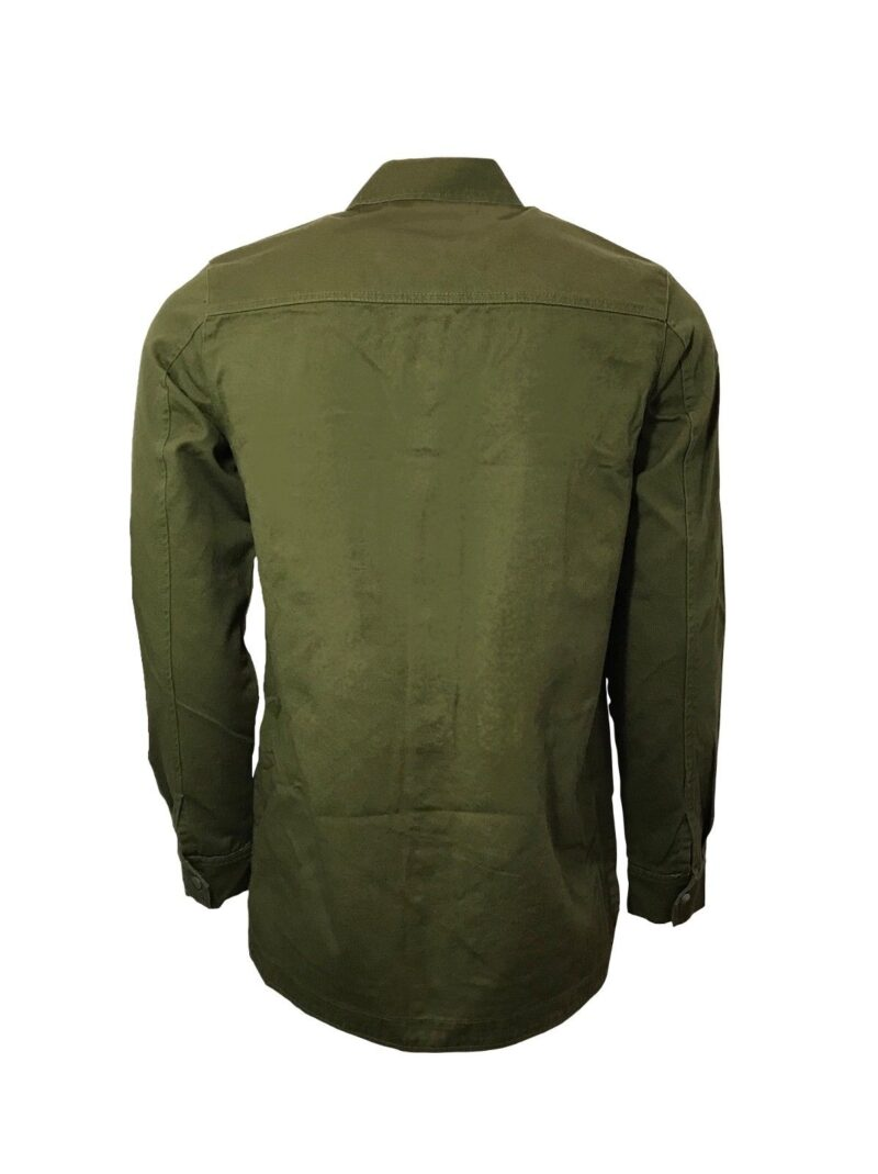 Olive Military Style Shirt 2