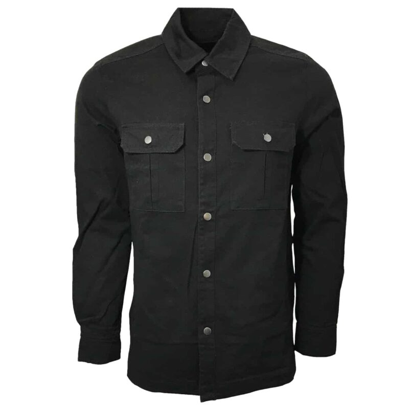 Black Military Style Shirt