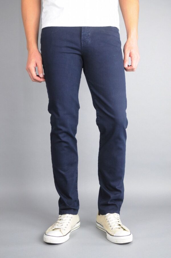 Dark Navy Skinny Jeans by Neo Blue