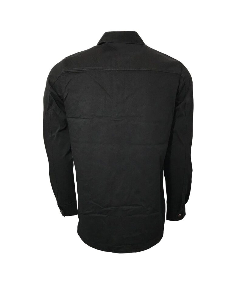 Black Military Style Shirt 3