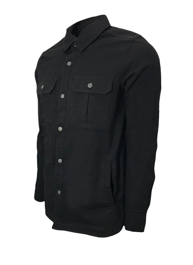 Black Military Style Shirt 2
