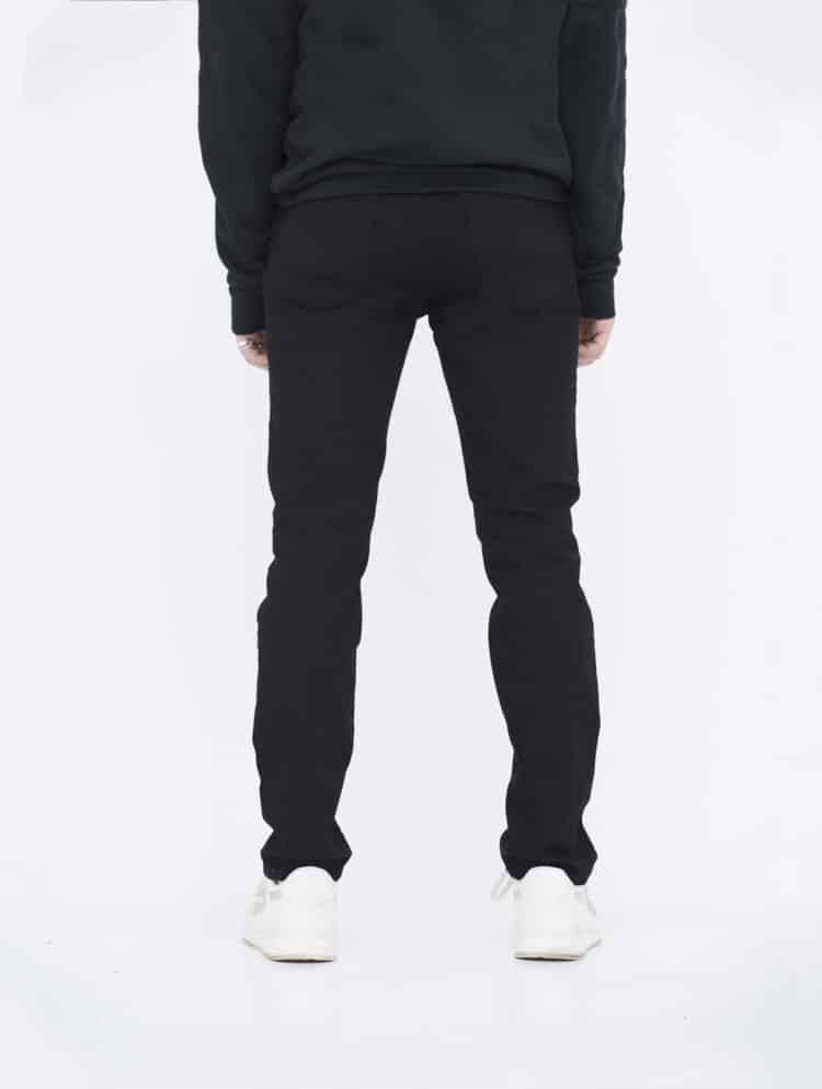Black Skinny Jeans back