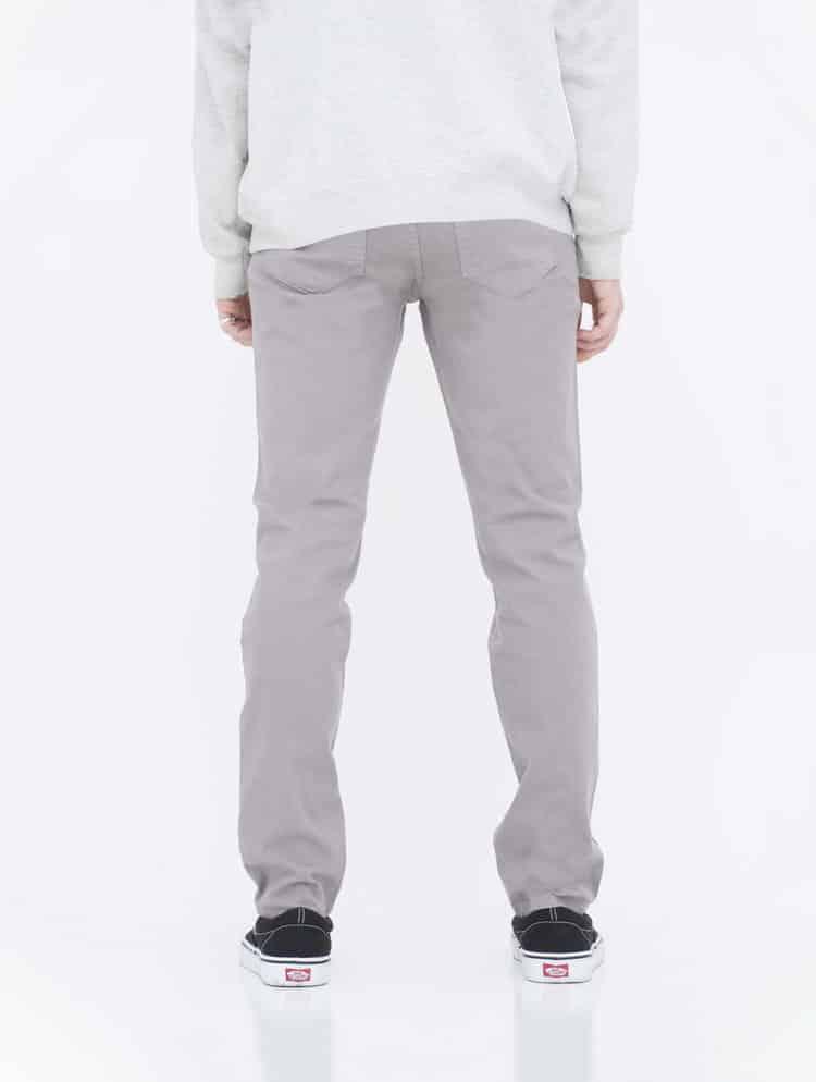 Gray Skinny Jeans back