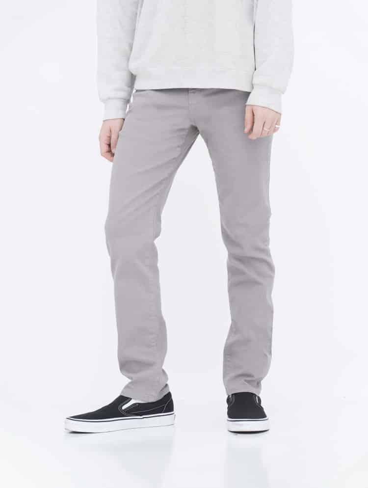 Gray Skinny Jeans side