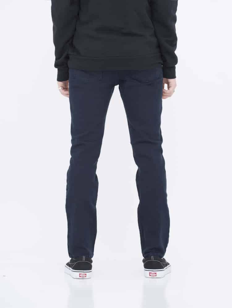 Navy Skinny Jeans back