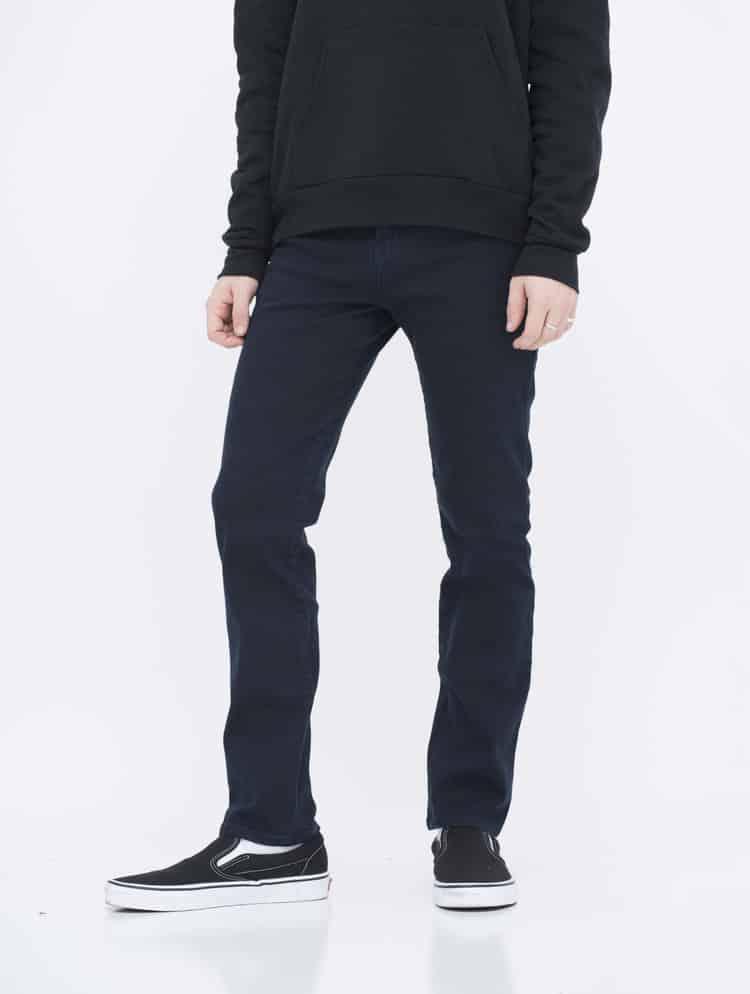 Navy Skinny Jeans side