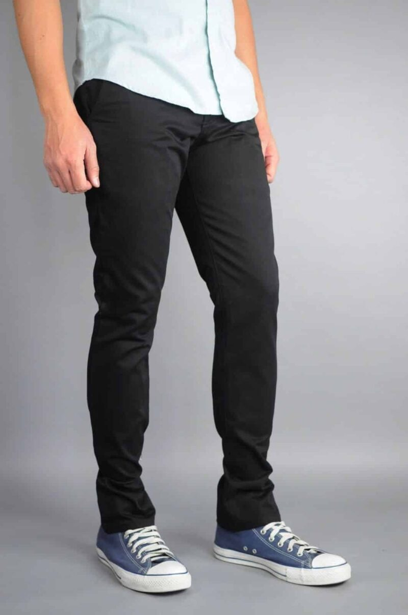 Black Chino Pants by Neo Blue Pants Premium 2