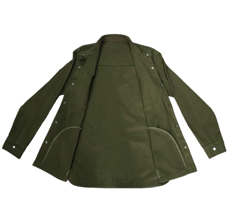 Olive Military Style Shirt 3