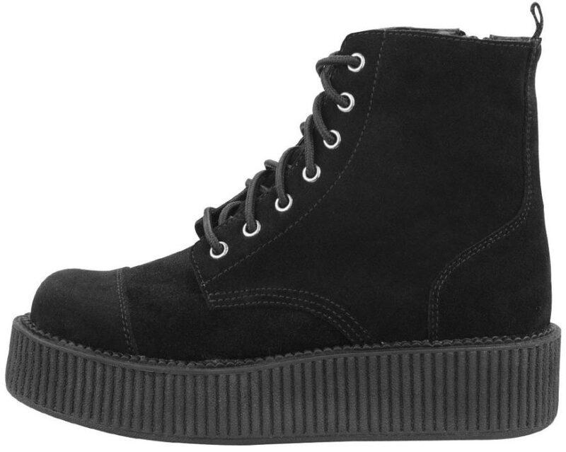 TUK Black Suede Mondo Boot A8642L 2