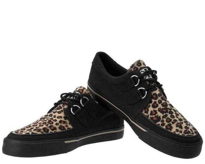 TUK Leopard Sneaker Creeper A9181 1