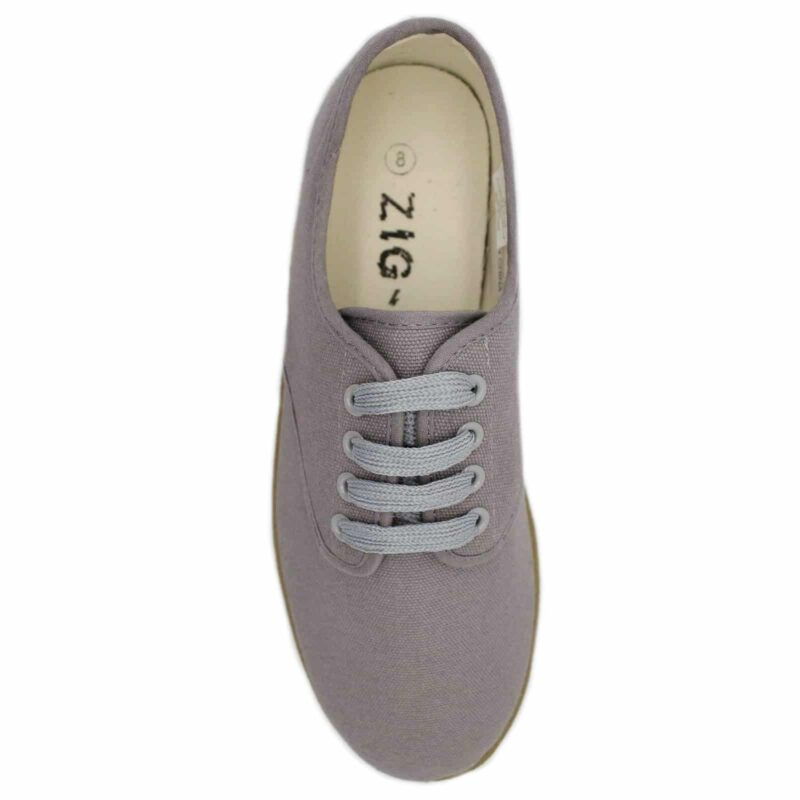 Zig Zag Wino Shoes Gray/Gum Sole 7201 3