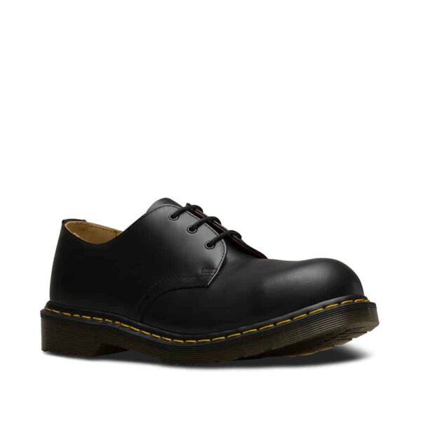 Dr. Martens 1925 Black 3-Eye Steel Toe Shoe