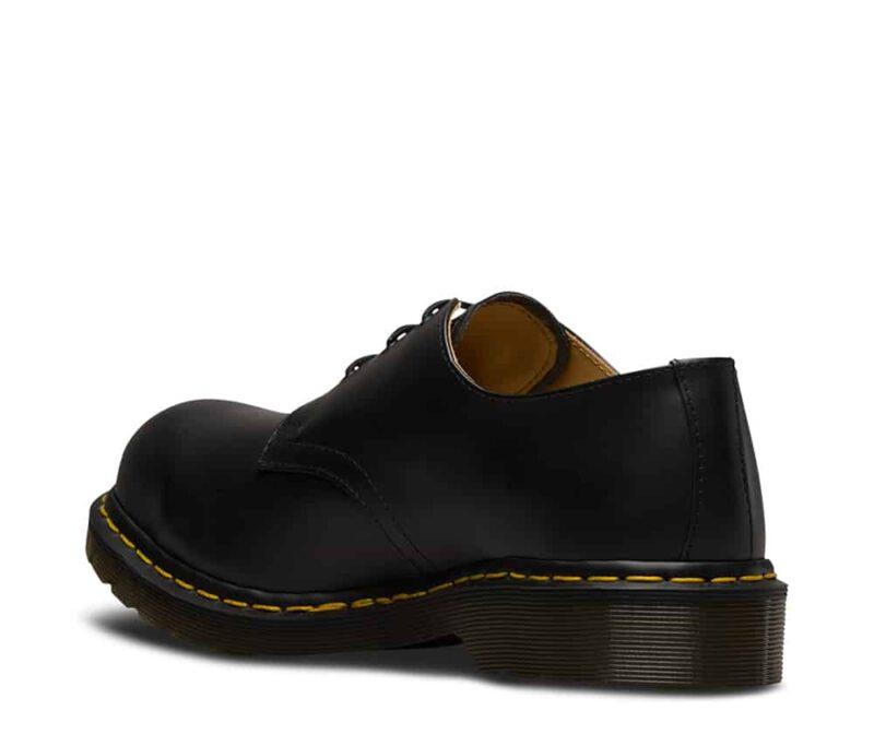 1925 5400 Black Fine Haircell Steel Toe Cap 3-Eye Shoes 5
