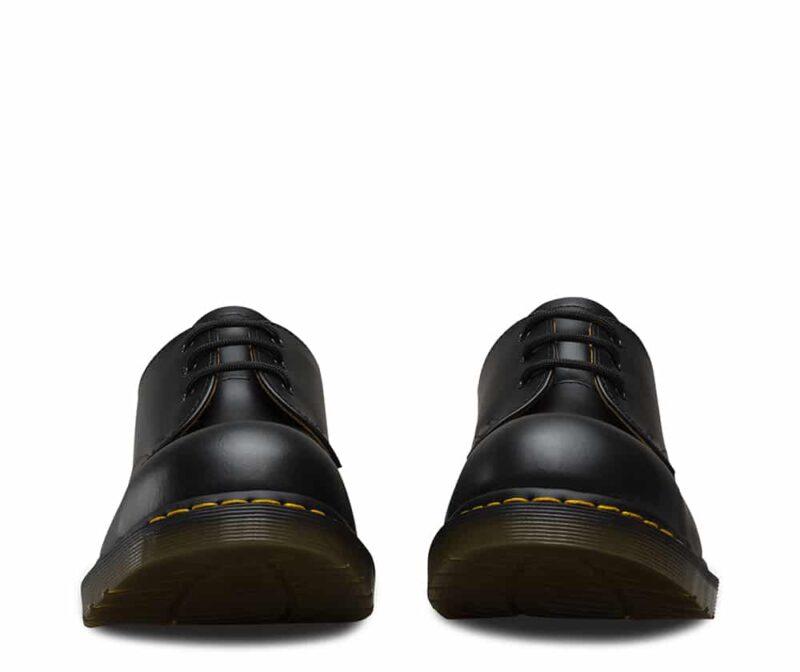 1925 5400 Black Fine Haircell Steel Toe Cap 3-Eye Shoes 3