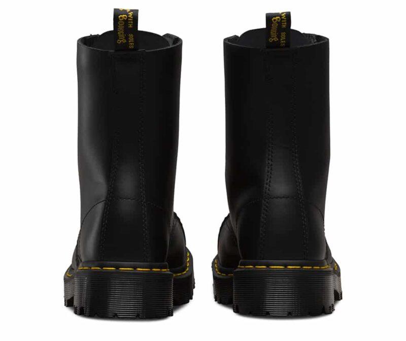 8761 BXB Black Fine Haircell 10-Eye Steel Toe Boot 4