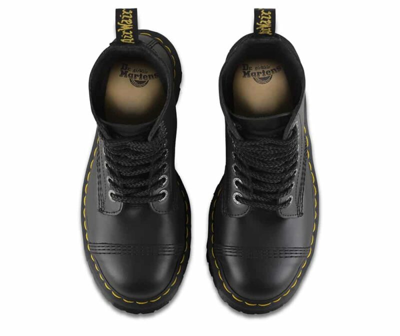 Dr. Martens 8761 Black BXB Steel Toe 10-Eye Boot 6
