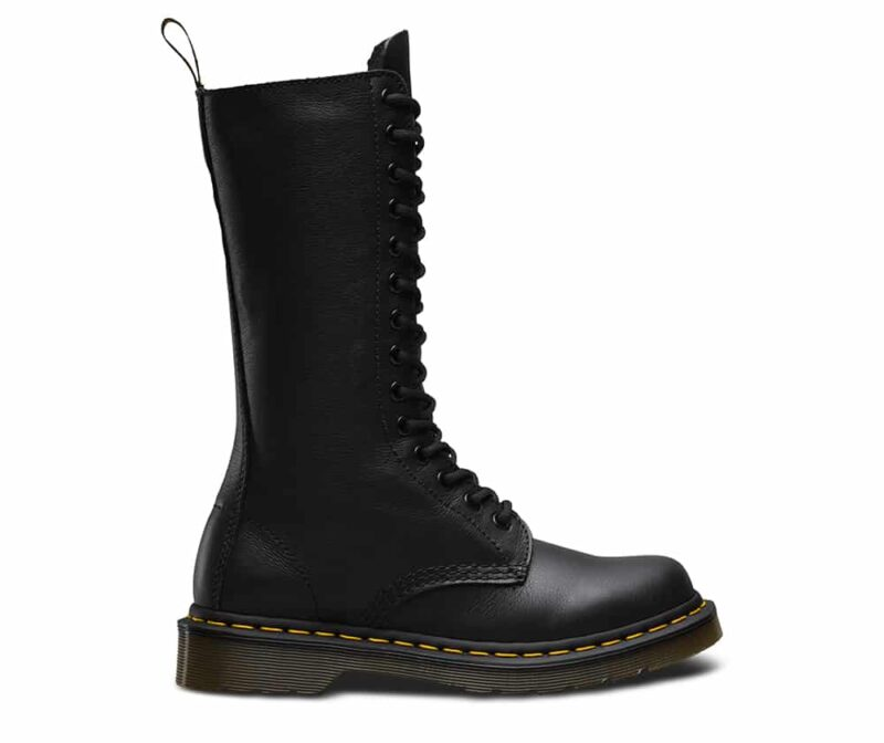 Dr. Martens 1B99 Black Virginia 14-Eye Boot 1
