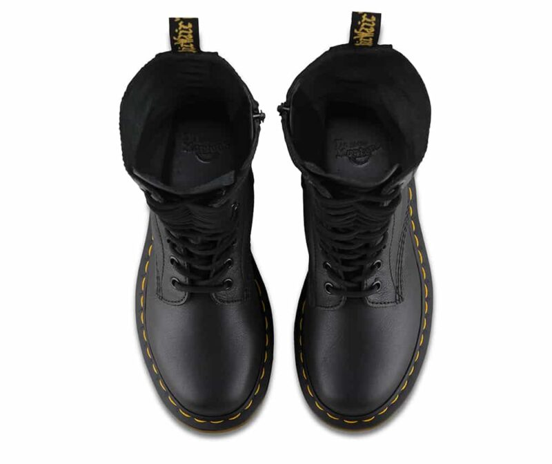 Dr. Martens 1B99 Black Virginia 14-Eye Boot 6