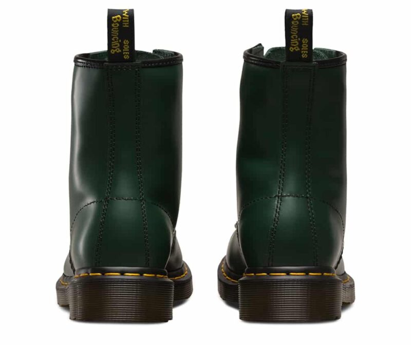 Dr. Martens 1460 Green Smooth 8-Eye Boot 4