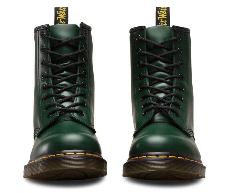 1460 Green Smooth 8-Eye Boot 2