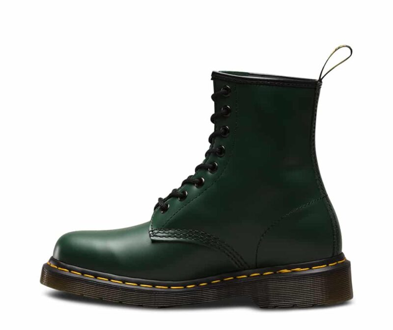 Dr. Martens 1460 Green Smooth 8-Eye Boot 3