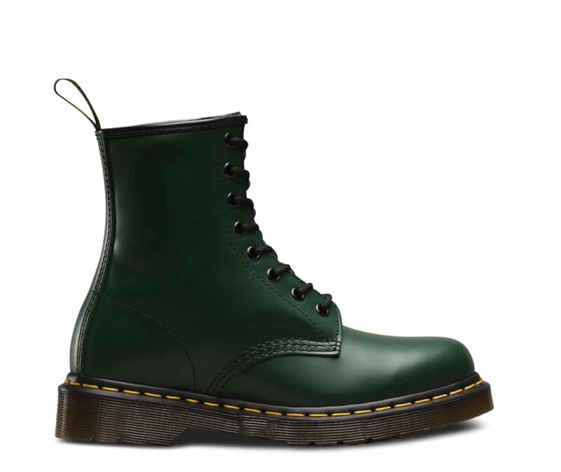 Dr. Martens 1460 Green Smooth 8-Eye Boot 1