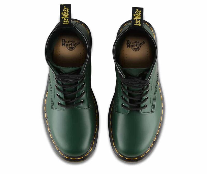 Dr. Martens 1460 Green Smooth 8-Eye Boot 6