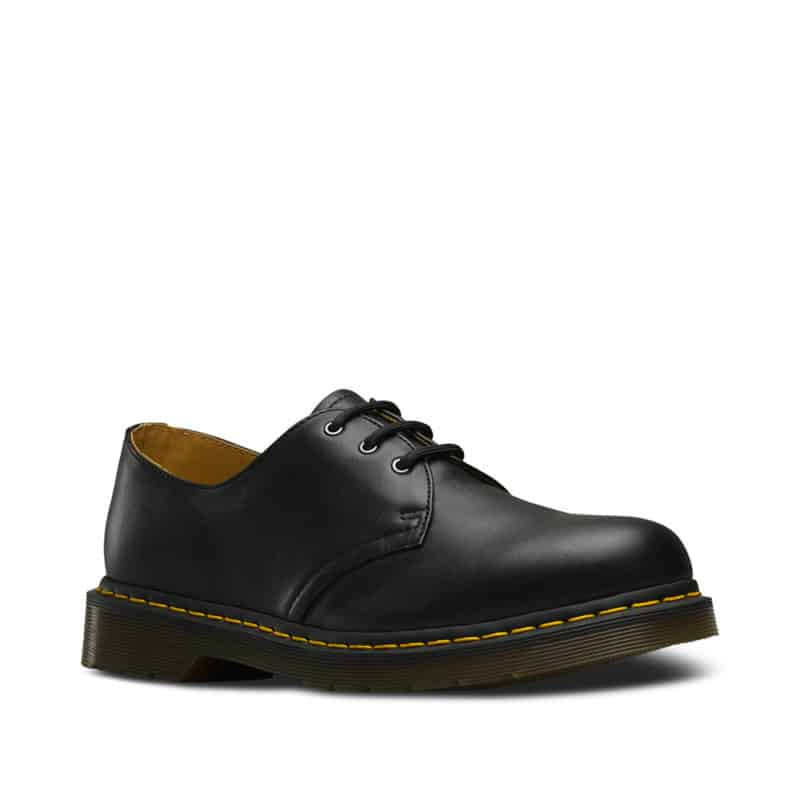 1461/11838001 Black Nappa 3-Eye Shoe