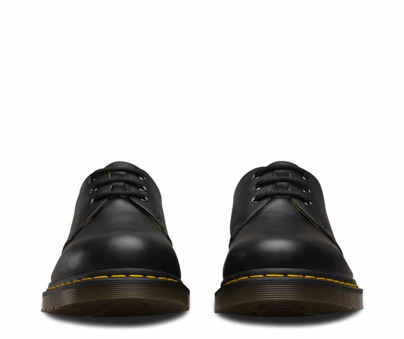 1461/11838001 Black Nappa 3-Eye Shoe 2