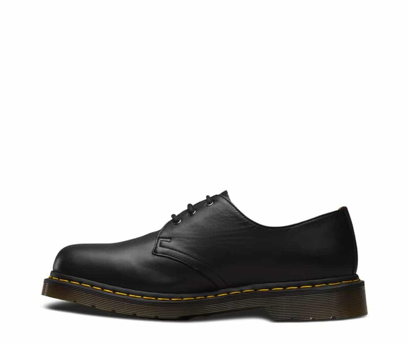 1461/11838001 Black Nappa 3-Eye Shoe 3