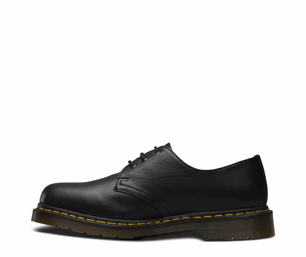 Dr. Martens 1461 Black Nappa 3-Eye Shoe